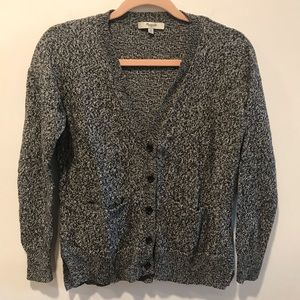 Madewell Cardigan Marled button front